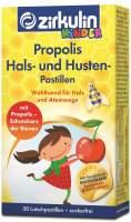 Zirkulin Propolis Hals und Husten Pastillen für Kinder 30 Pastillen
