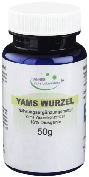 Yams Wurzel 50 G Pulver