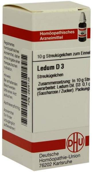 Ledum D 3 Globuli