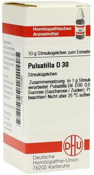 Pulsatilla D30 10 G Globuli