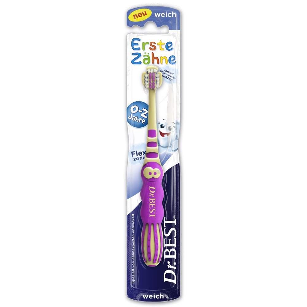 GlaxoSmithKline Consumer He Dr.Best Zahnbürste Erste Zähne 0-2 Jahre - 1 Zahnbürste