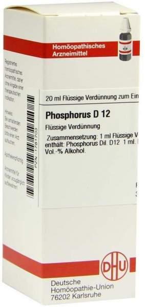 Phosphorus D 12 20 ml Dilution