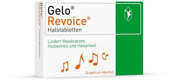 GeloRevoice Halstabletten Grapefruit - Menthol 60 Lutschtabletten