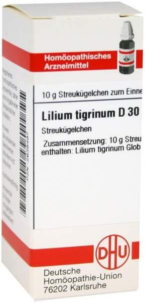 Lilium Tigrinum D 30 Globuli