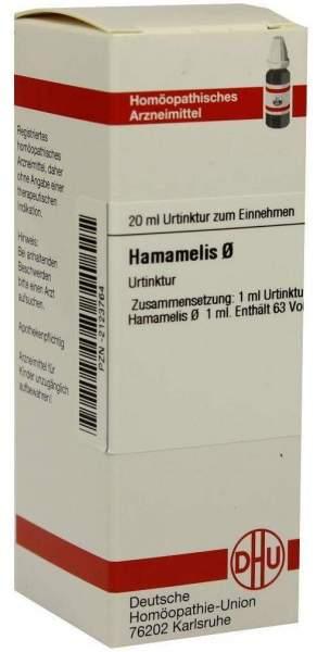 Hamamelis Urtinktur 20 ml Dilution