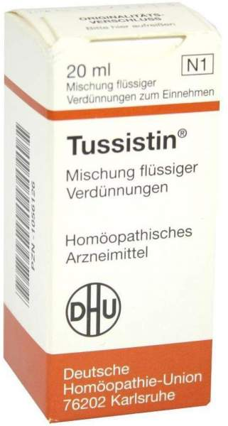 Tussistin 20 ml Liquidum
