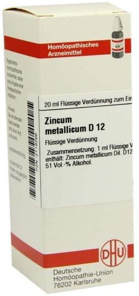Zincum Metallicum D 12 20 ml Dilution