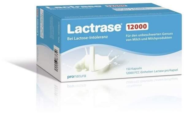 Lactrase 12.000 Fcc 150 Kapseln