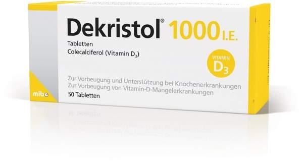 Dekristol 1.000 I.E. 50 Tabletten