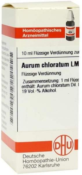 Lm Aurum Chloratum Vi