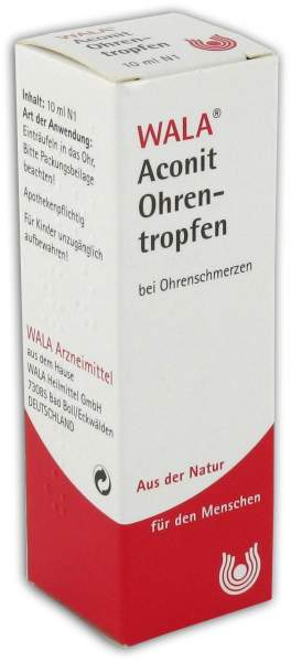 Wala Aconit 10 ml Ohrentropfen