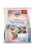 Sagrotan Reise-Set,Pumpspray, Handhygiene Gel, -Desinfektions Tücher