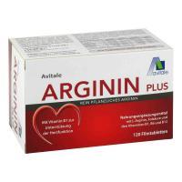 Arginin plus Vitamin B1+B6+B12+Folsäure 120 Filmtabletten
