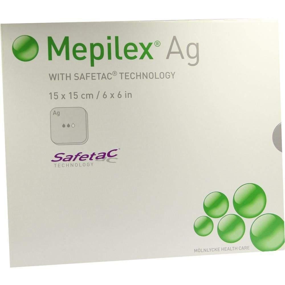 Mepilex AG Verband 15x15cm Steril