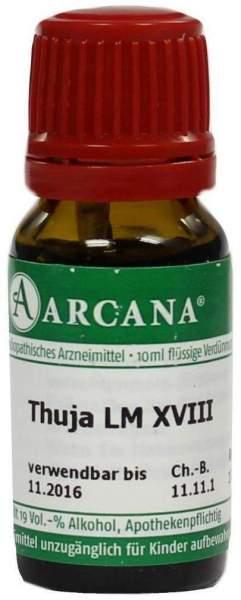 Thuja Arcana Lm 18 Dilution 10 ml