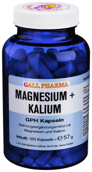 Magnesium + Kalium Gph 120 Kapseln