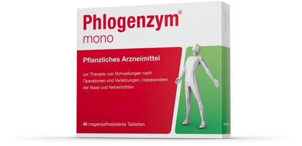 Phlogenzym Mono 40 Magensaftresistente Tabletten