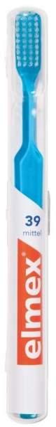 Elmex 39 Zahnbürste Mit Köcher Mittel 1 Stück