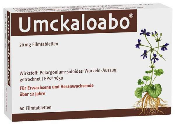 Umckaloabo 20 mg 60 Filmtabletten