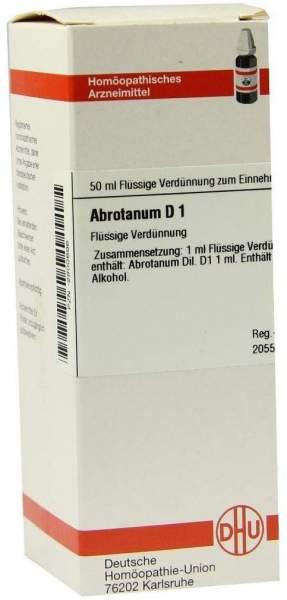 Abrotanum D1 Dilution Verdünnung 50ml