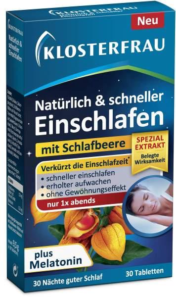 Klosterfrau natürlich & schneller Einschlafen 30 Tabletten