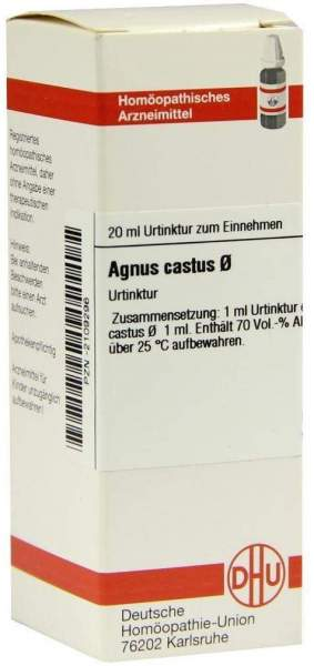 Agnus Castus Urtinktur Dhu 20 ml Dilution