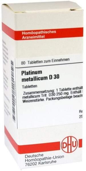 Platinum Metallicum D 30 Tabletten