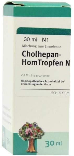 Cholhepan Homtropfen N 30 ml Tropfen