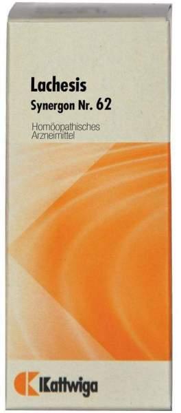Lachesis Synergon 62 20 ml Tropfen