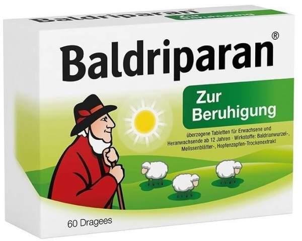 Baldriparan zur Beruhigung 60 überzogene Tabletten