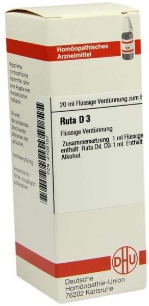 Ruta D3 Dilution 20 ml Dilution