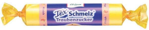 Soldan Tex Schmelz Traubenzucker Pfirsich 33 G