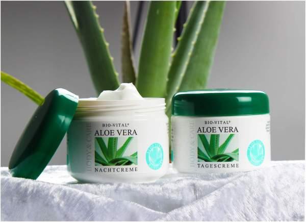 Aloe Vera Creme Pflegeset Tages und Nachtcreme 2 x 125 ml