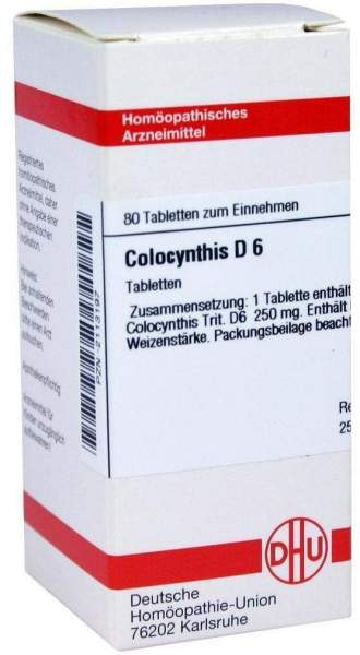 Colocynthis D6 80 Tabletten