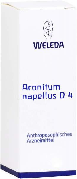 Weleda Aconitum Napellus D4 Dilution