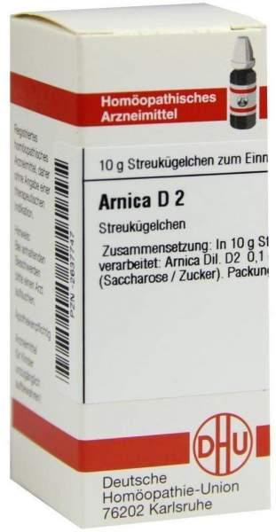 Arnica D2 10 G Globuli