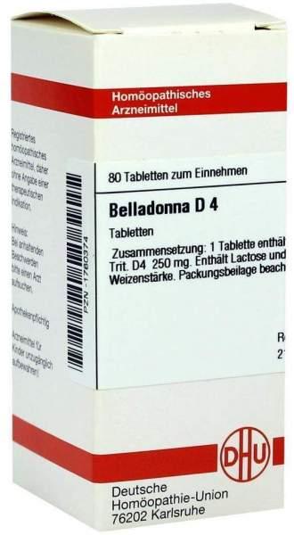 Belladonna D4 80 Tabletten