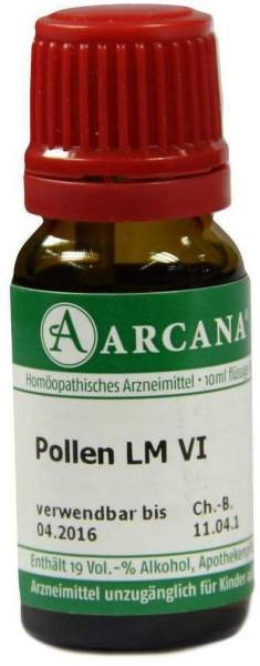 Pollen Lm 6 Dilution 10 ml