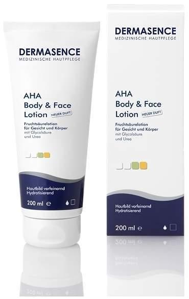 Dermasence Aha Body und Face Lotion Fruchtsäure-Lotion 200 ml