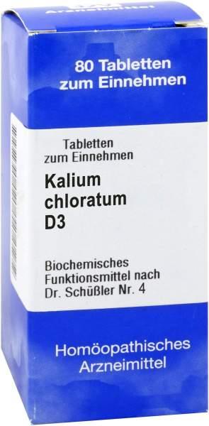 Biochemie 4 Kalium Chloratum D 3 1000 Tabletten