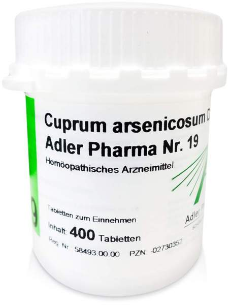 Biochemie Adler 19 Cuprum Arsenicosum D12 400 Tabletten