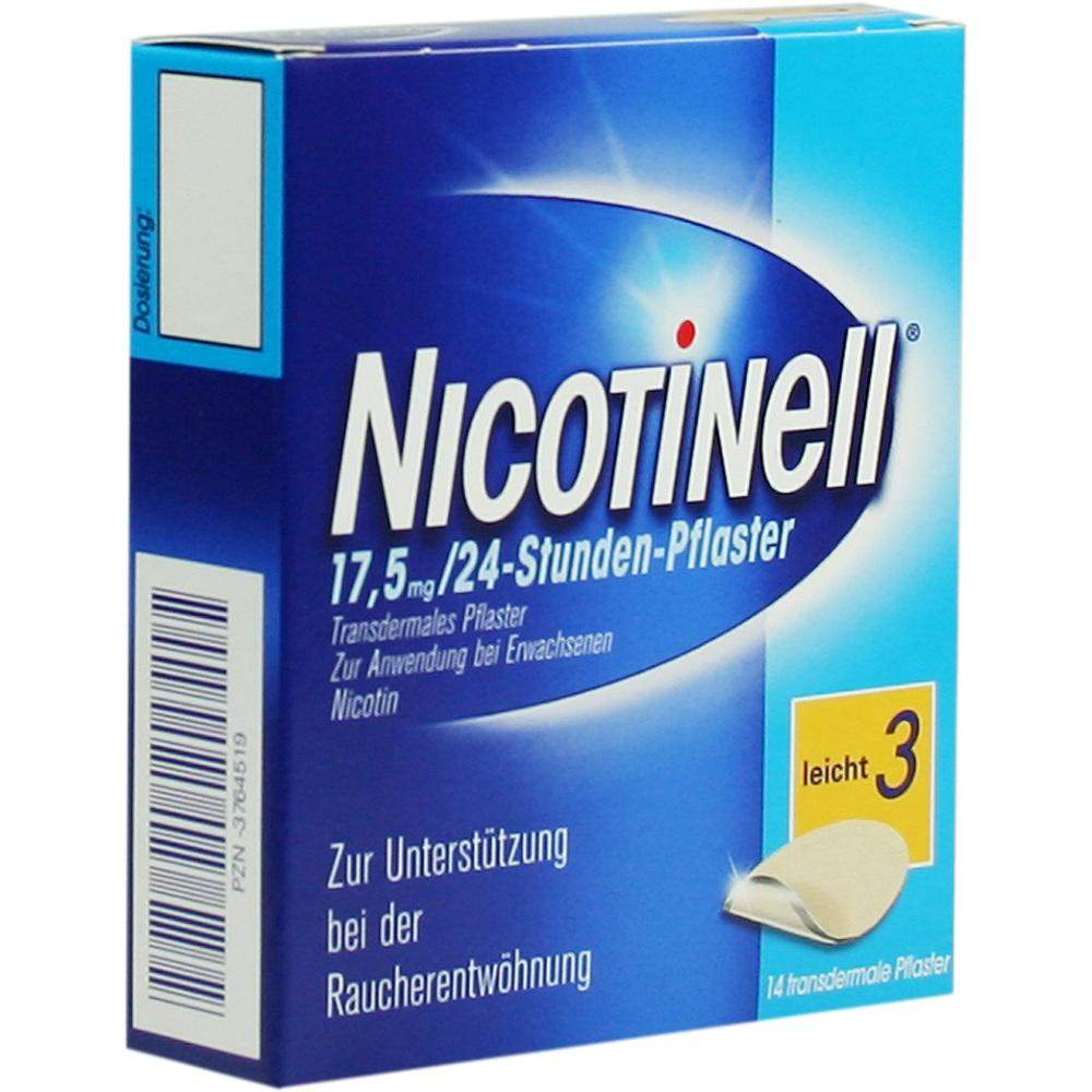 Nicotinell 17,5mg Pro 24 Stunden Pflaster