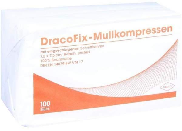 Dracofix Op-Kompressen Unsteril 7,5x7,5cm 8fach