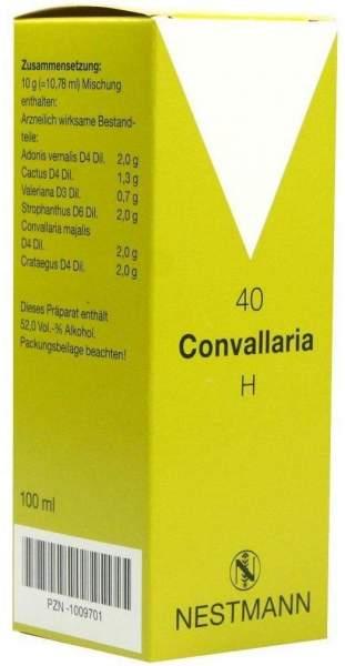 Convallaria H Nr. 40 100 ml Tropfen