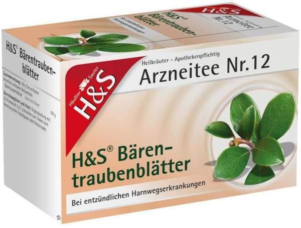 H&S Bärentraubentee Filterbeutel