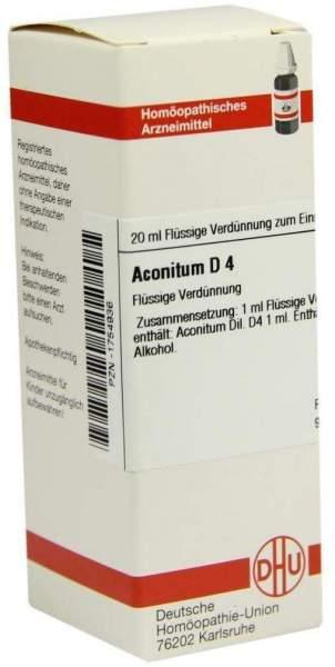 Aconitum D4 20 ml Dilution