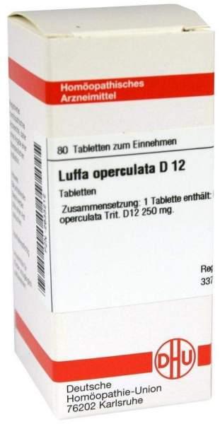 Luffa Operculata D12 Dhu 80 Tabletten