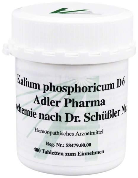 Biochemie Adler 5 Kalium Phosphoricum D 6 400 Tabletten