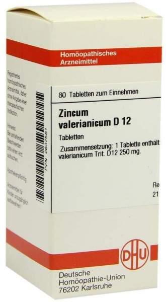 Zincum Valerianicum D12 Tabletten 80 Tabletten