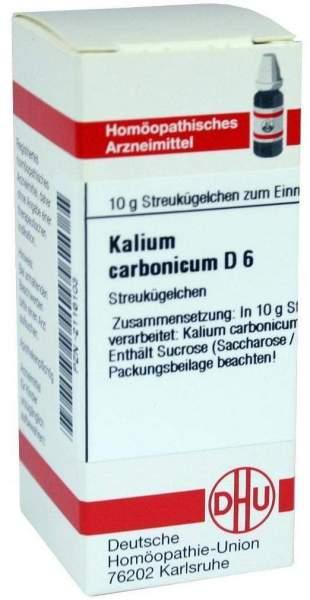 Kalium Carbonicum D6 Dhu 10 G Globuli